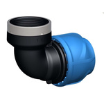Georg Fischer 90° 90° Elbow PVC Pipe Fitting, 25mm