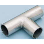 RS PRO Stainless Steel Solder Fitting Equal Tee, 63.5mm OD