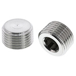 Legris Stainless Steel Hexagon Plug 1/2in R(T) Male