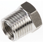 Legris Stainless Steel Hexagon Straight Reducer 1/4in R(T) Male x 1/8in G(P) Female