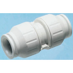 John Guest Straight Coupler PVC Pipe Fitting, 22mm