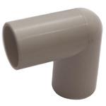 Polyplumb 90° Elbow PVC Pipe Fitting, 22mm