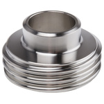 RS PRO Stainless Steel Solder Fitting Straight, 23mm OD
