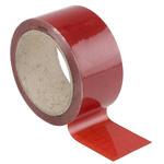 RS PRO Red Vinyl Pipe Marking Tape, Dim. W 50mm x L 33m