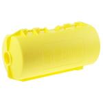 Brady 7mm Shackle Polypropylene Plug Lockout- Yellow
