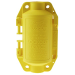 Brady 2 Lock 7mm Shackle Polypropylene Plug Lockout- Yellow