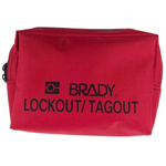 Brady Nylon Lockout Belt Pouch- Red