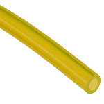 Saint Gobain Fluid Transfer Tygon® F-4040-A Transparent Yellow Process Tubing, 4.8mm Bore Size , 15m Long , No