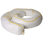 Lubetech Marine Use Spill Absorbent Boom 30 L Capacity, 4 Per Package