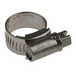 HI-GRIP Stainless Steel Slotted Hex Worm Drive, 9mm Band Width, 11mm - 16mm Inside Diameter