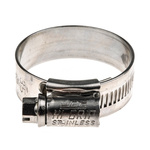 HI-GRIP Stainless Steel Slotted Hex Worm Drive, 13mm Band Width, 25mm - 35mm Inside Diameter