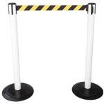 Tensator Black & Yellow Barrier, Retractable 2.3m