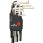 Wiha Tools 9 pieces Hex Key Set,  L Shape 1.5mm
