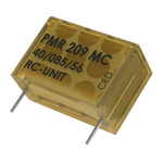 KEMET RC Capacitor 100nF 22Ω Tolerance ±20% 250 V ac, 630 V dc 1-way Through Hole PMR209 Series
