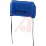 Capacitor, Metallized Polyester;0.1uF;Radial;600VDC;+/-20%;1.080In.L;0.390In.T;