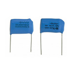 Cornell-Dubilier RC Capacitor 250nF 150Ω Tolerance ±20% 250 V ac, 600 V dc 1-way Through Hole Q Series
