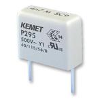 KEMET Paper Capacitor 470pF 500V ac ±20% Tolerance P295 Through Hole +115°C