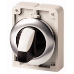 Eaton M30 Selector Switch - 3 Position, Momentary, 30mm cutout