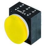 Siemens Yellow Pilot Light Head, 22mm Cutout 3SB3 Series