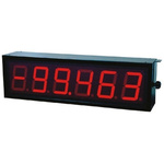 D060S.46S4A01 Baumer 6 Digit 7-Segment LED Display, Red 1000 lx 57mm