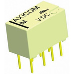 TE Connectivity DPDT PCB Mount Latching Relay - 2 A, 4.5V dc For Use In Automotive, Telecommunications Applications