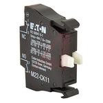 Eaton M22 Contact Block - NC+NO 220 V dc, 240 V ac