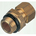 Legris 12mm x 1/2 in BSPP Male Straight Coupler Brass Compression Fitting