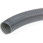 Merlett Plastics PVC 10m Long Grey Flexible Ducting
