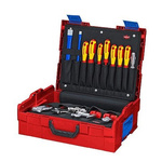 Knipex 25 Piece Plumbing Tool Kit with Case, VDE Approved