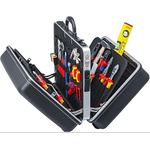 Knipex 65 Piece Electricians Tool Kit with Case, VDE Approved