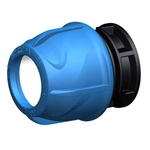 Georg Fischer Straight End Cap PVC Pipe Fitting, 25mm
