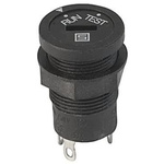 IP40 Panel Mount Rotary Switch Double Pole Single Throw (DPST) 6.3 A Slot