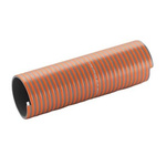 Merlett Plastics PVC Flexible Tube, Grey, 58.8mm External Diameter, 5m Long, 220mm Bend Radius, Applications Various
