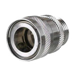Straight Hose Coupling 1/2in Coupler to Threaded, 3/4 in BSP Male