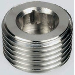 Legris Stainless Steel Hexagon Plug 1/8in R(T) Male