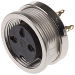 Lumberg 3 Pole Din Socket, DIN EN 60529, 5A, 250 V ac IP68