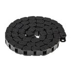 Igus 6, e-chain Black Cable Chain, W10 mm x D10.5mm, L1m, 18 mm Min. Bend Radius, Igumid G