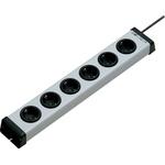 Bodo Ehmann 3m 6 Socket Type F - German Schuko Extension Lead, 250 V ac