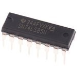 Texas Instruments SN74LS85N, 4-Bit, Magnitude Comparator, Non-Inverting, 16-Pin PDIP