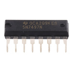Texas Instruments SN7497N, Multiplier, 16-Pin PDIP