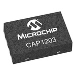 CAP1203-1-AC3-TR Microchip, CAP1203 Capacitive 3 V to 5.5 V 8-Pin TDFN