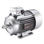 Siemens 1LE1 Reversible Induction AC Motor, 4 kW, IE2, 3 Phase, 4 Pole, 400 V, 690 V, Foot Mounting