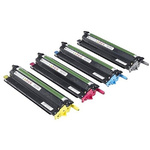 Dell 593-BBEJ Black, Cyan, Magenta, Yellow Toner Cartridge, Dell Compatible