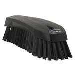 Vikan Black 36mm Polyester Hard Scrubbing Brush for Multipurpose Cleaning