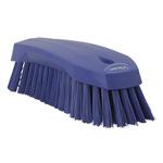 Vikan Purple 36mm Polyester Hard Scrubbing Brush for Multipurpose Cleaning