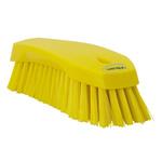 Vikan Yellow 36mm Polyester Hard Scrubbing Brush for Multipurpose Cleaning