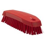 Vikan Red 20mm Polyester Medium Scrubbing Brush for Multipurpose Cleaning
