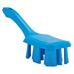 Vikan Blue 37mm PET Hard Scrubbing Brush for Engineering Cleaning