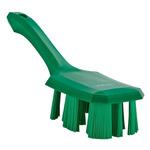 Vikan Broom, Green With PET Bristles