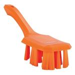 Vikan Broom, Orange With PET Bristles
